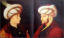 Gentile-bellini-fatih-sultan-mehmed-ve-oğlu-cem-sultan-tablosu-7-haziran-1962-hayat-dergisi